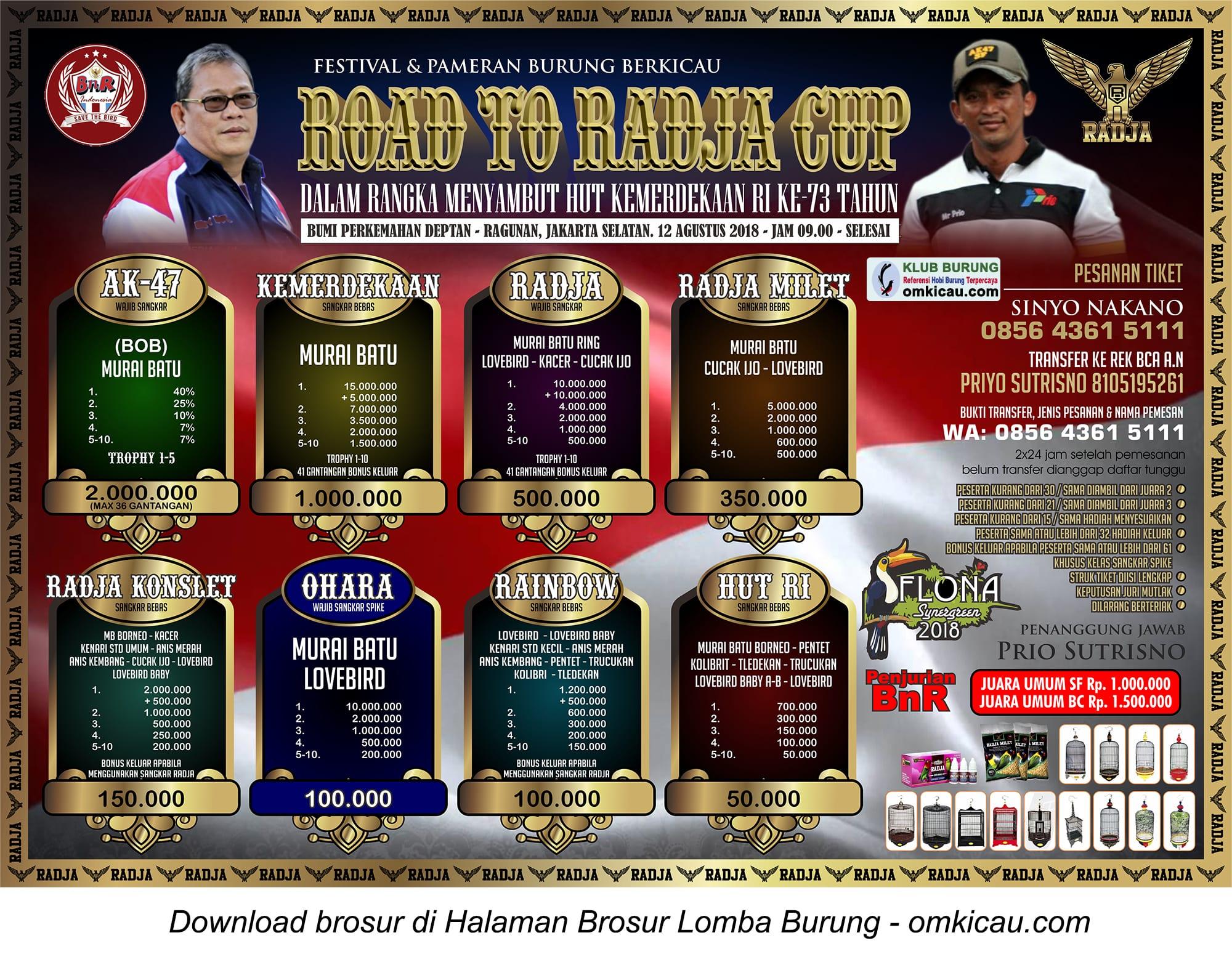 Road to Radja Cup