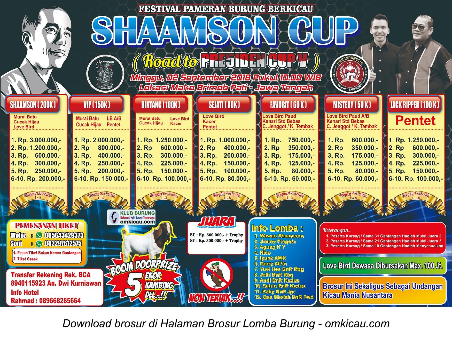 Shaamson Cup
