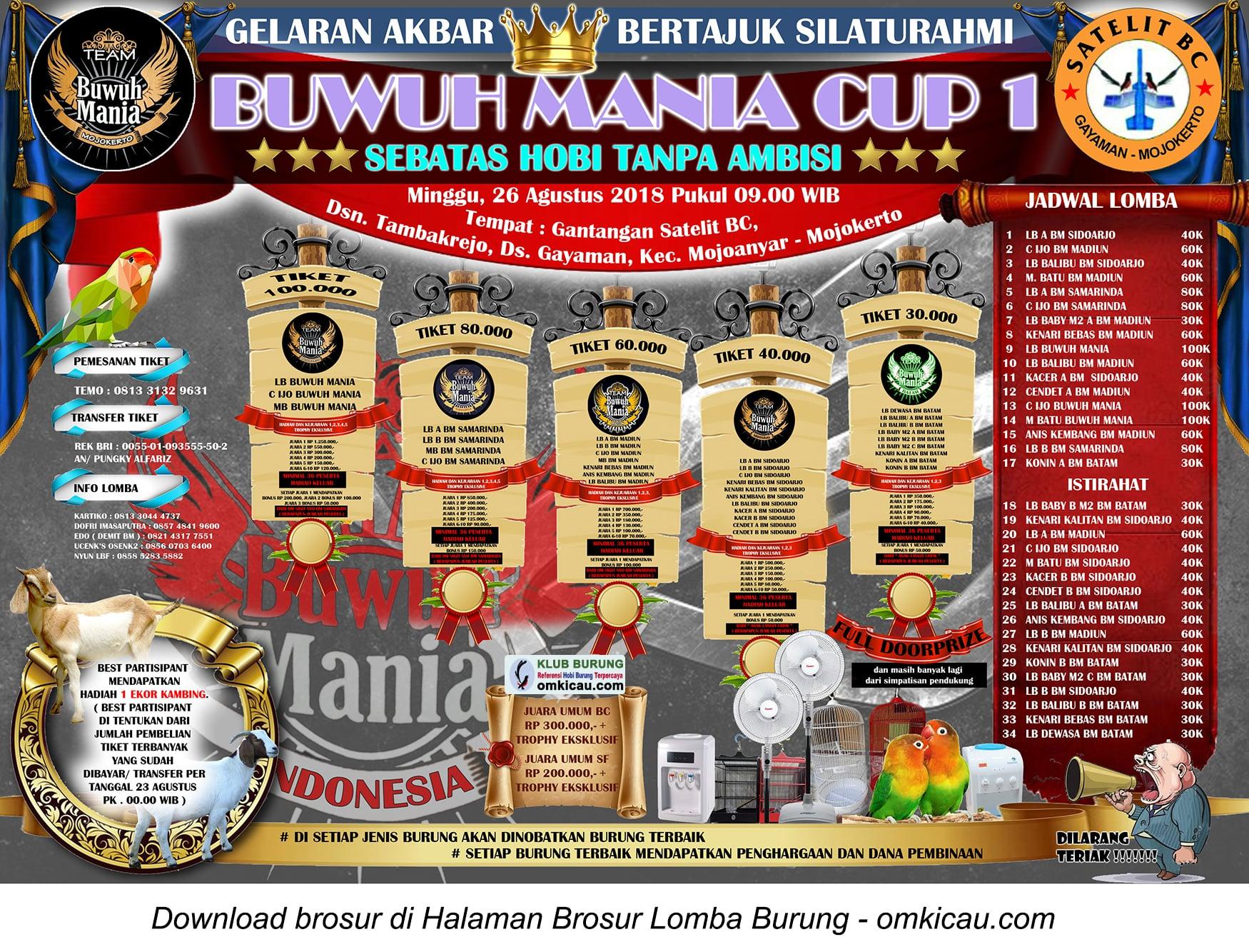 Silaturahmi Buwuh Mania Cup 1