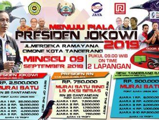 Menuju Piala Presiden Jokowi