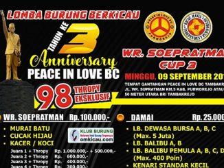 WR Soepratman Cup 3
