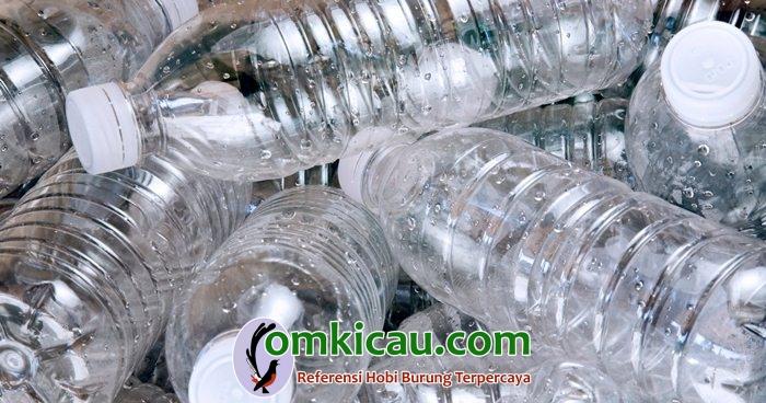 Tips membuat tempat sarang dari botol plastik bekas