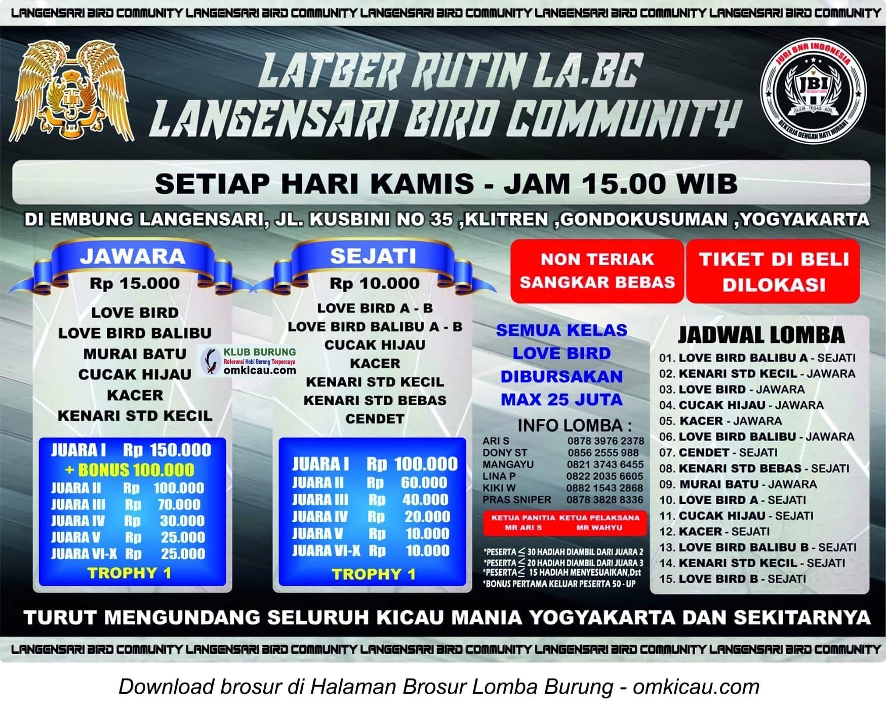 Langensari Bird Community