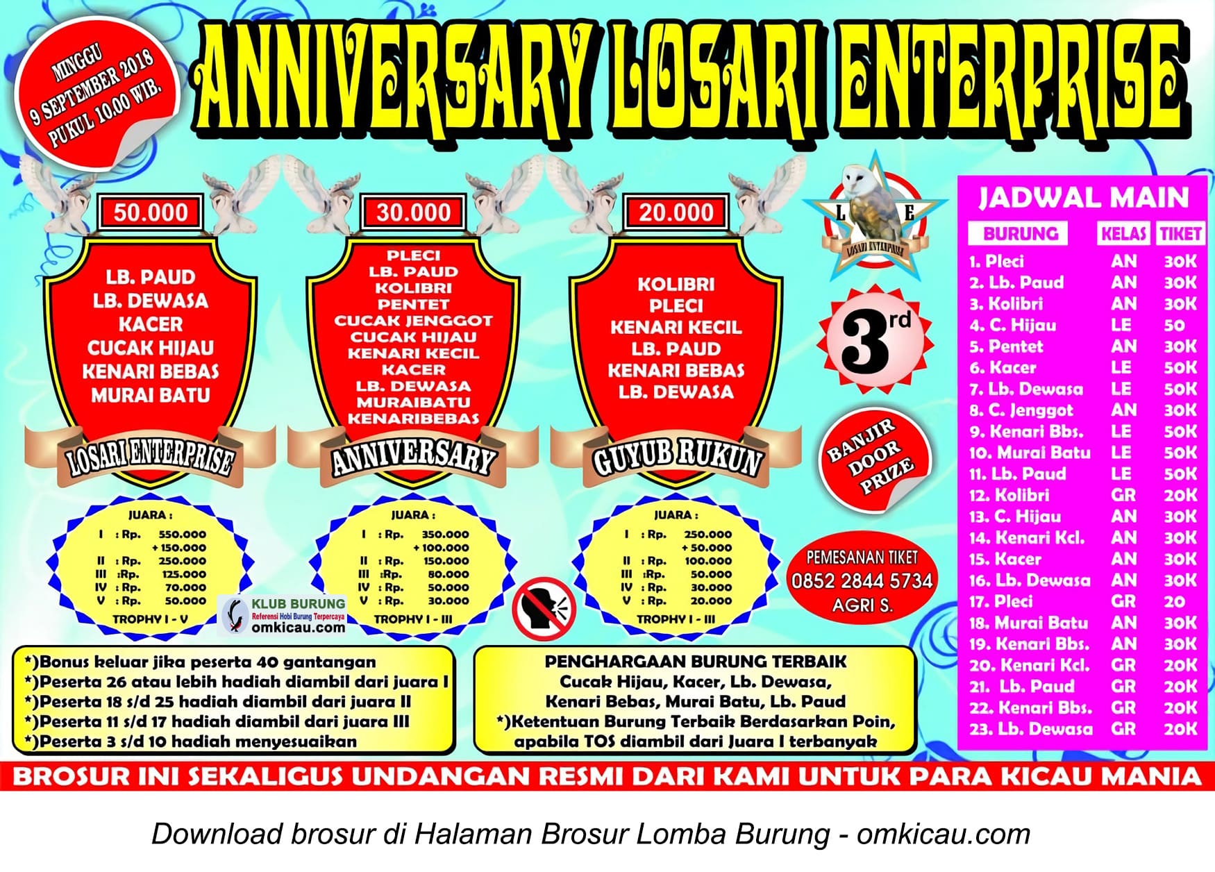 Anniversary Losari Enterprise