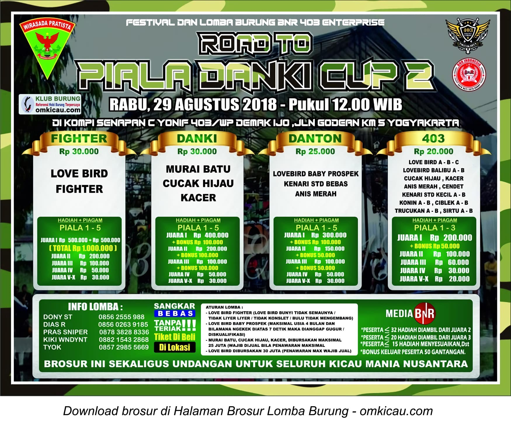 Road to Piala Danki Cup 2