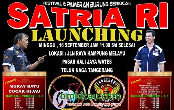 Launching Satria RI