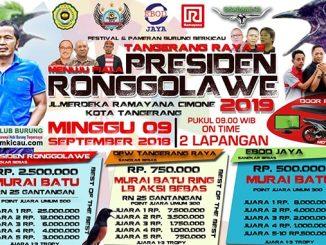 Menuju Piala Presiden Ronggolawe