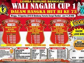 Wali Nagari Cup 1