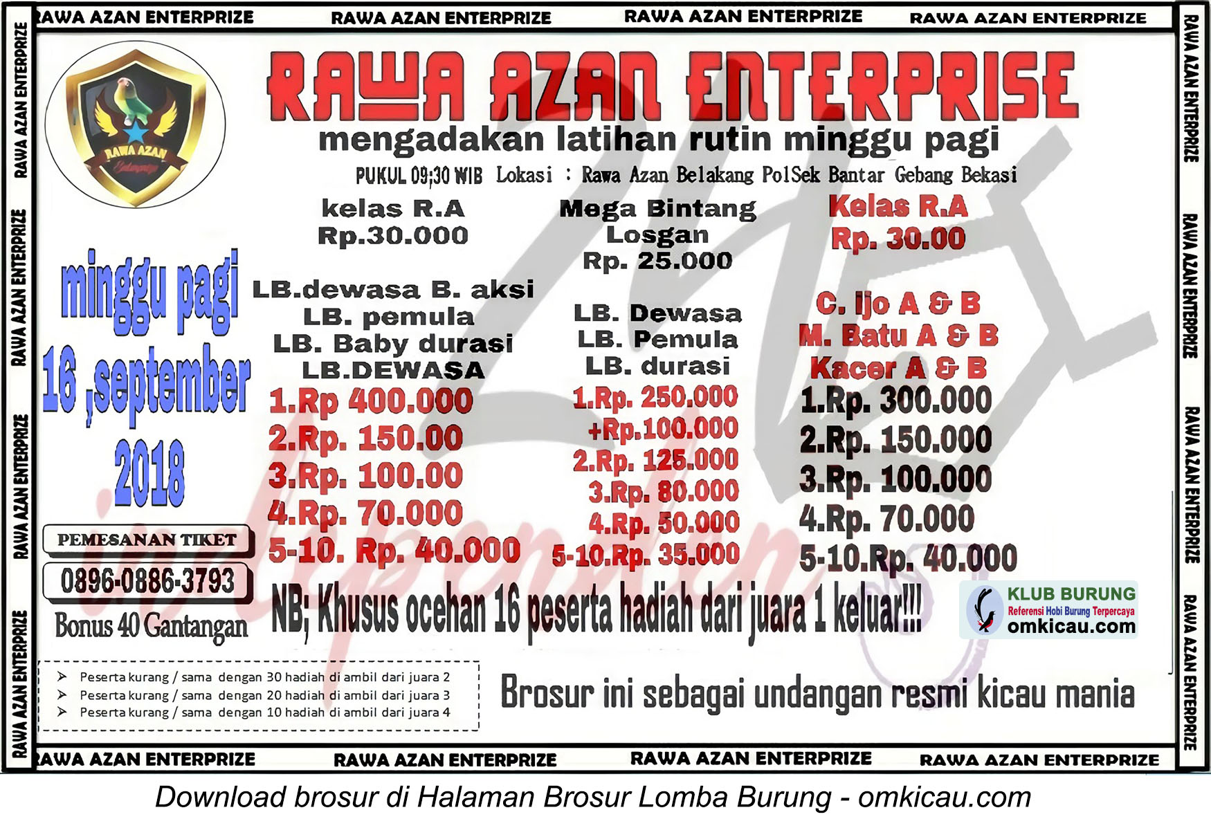 Latber Rawa Azan Enterprise