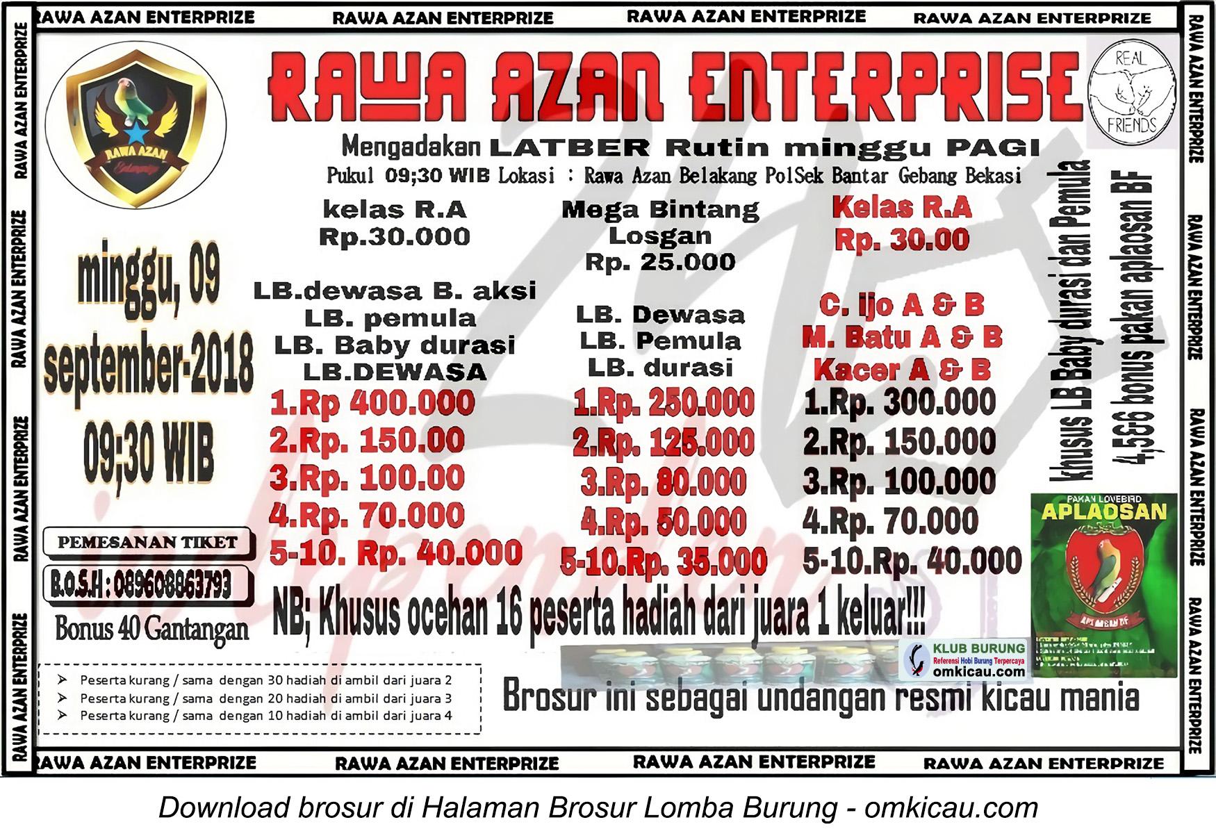 Latber Rawa Azan