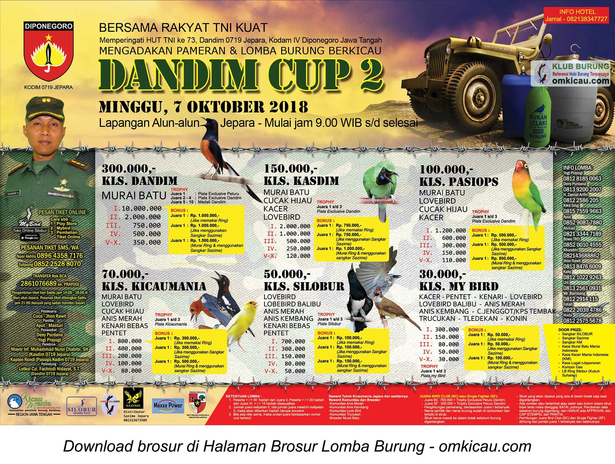 Dandim Cup 2 Jepara