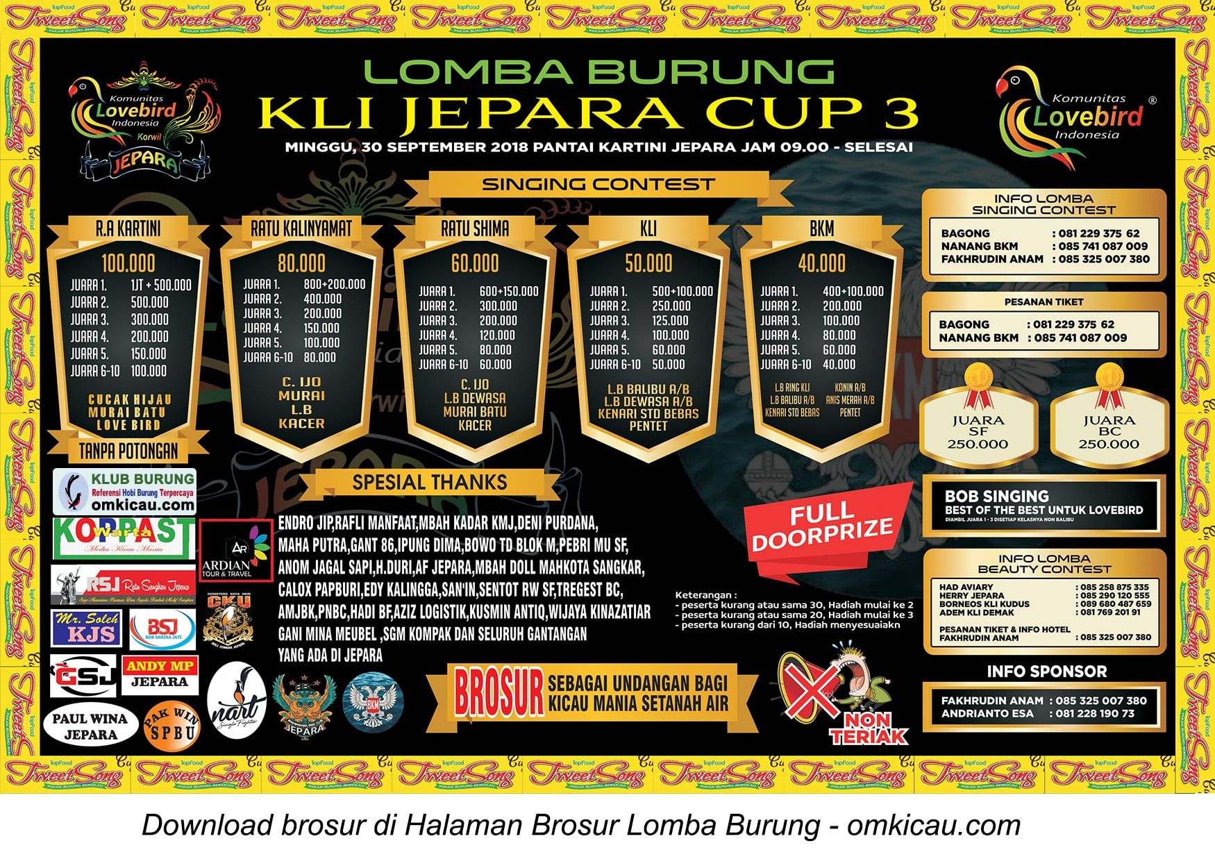 KLI Jepara Cup 3