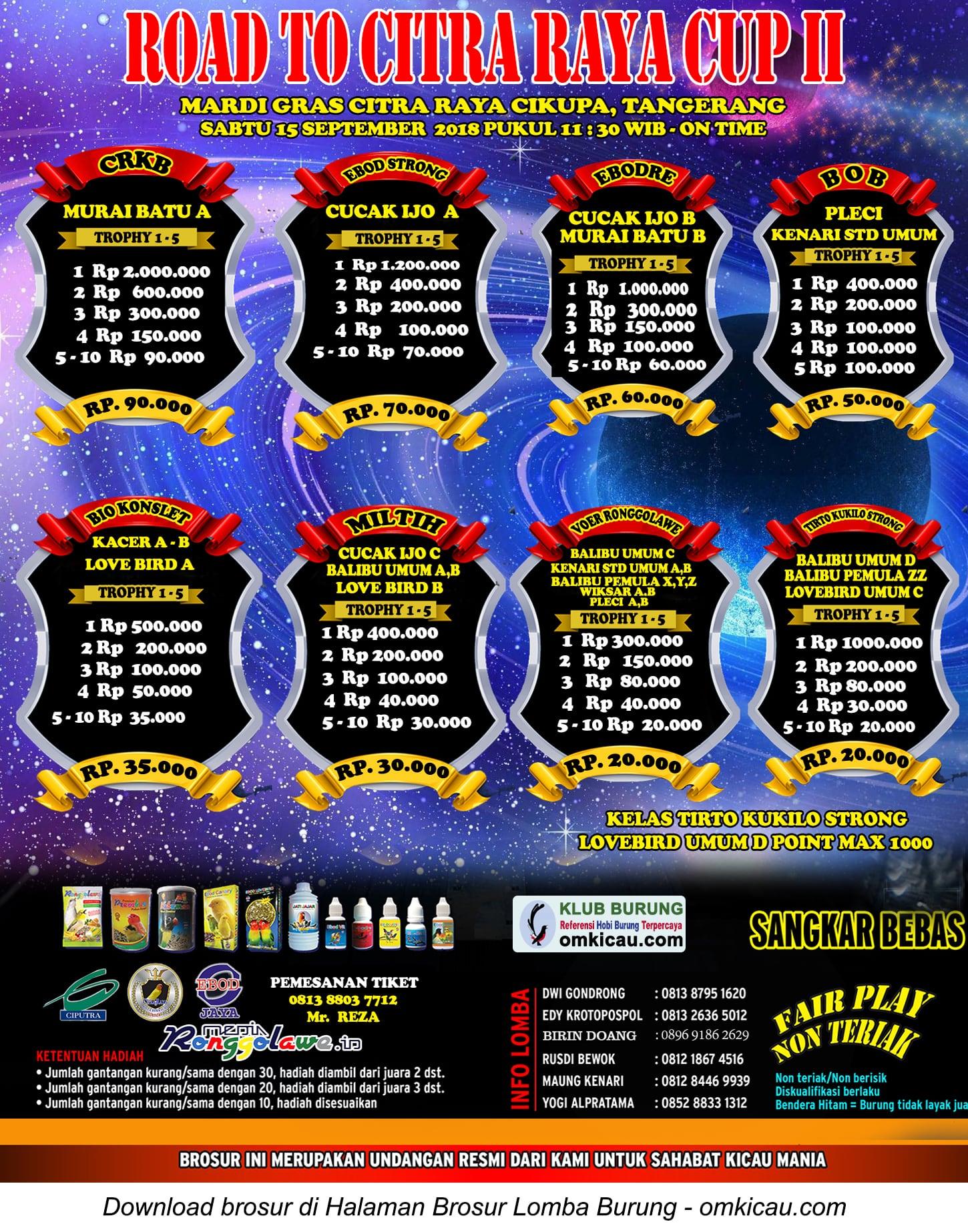 Road to Citra Raya Cup II