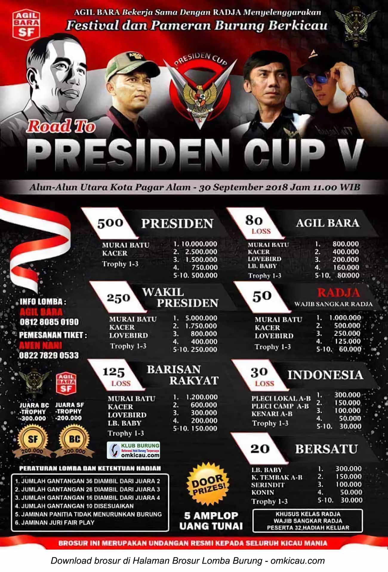 Road to Presiden Cup V Pagar Alam