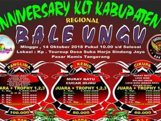 Anniversary KLT Kabupaten 1