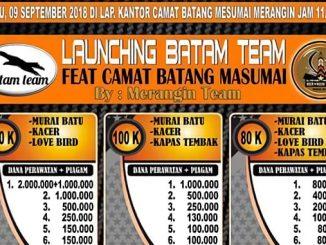 Launching Batam Team