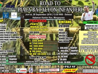 Road to Piala Batalyon Infanteri