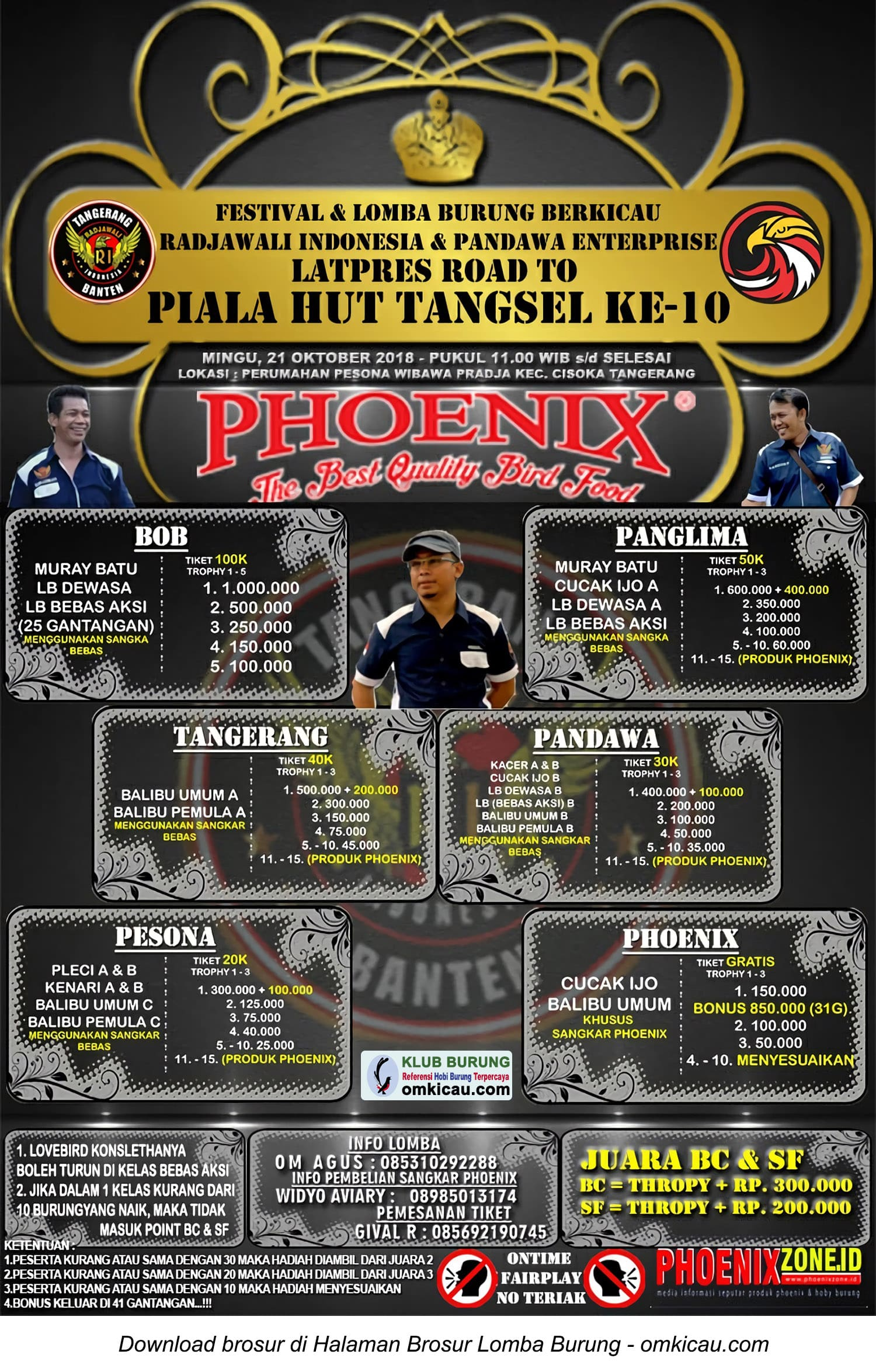 Road to Piala HUT Ke-10 Tangsel
