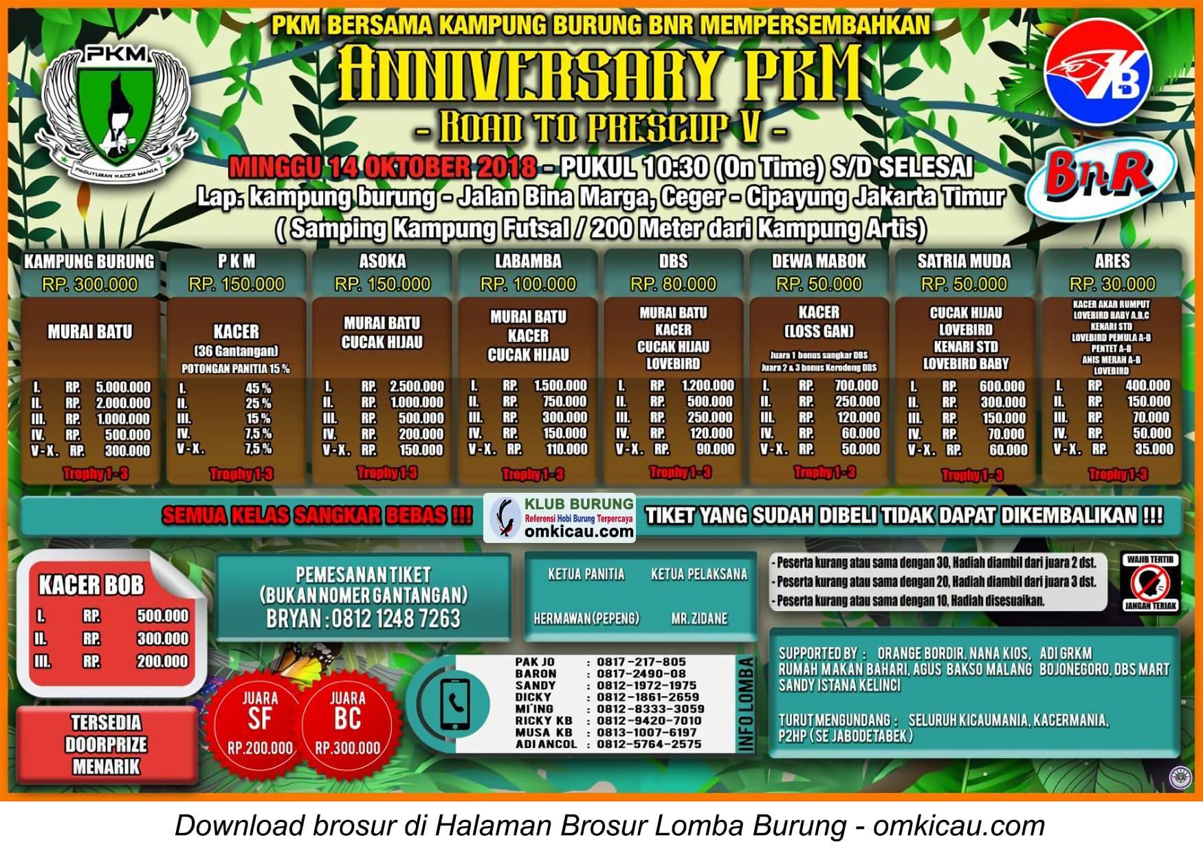 Anniversary PKM