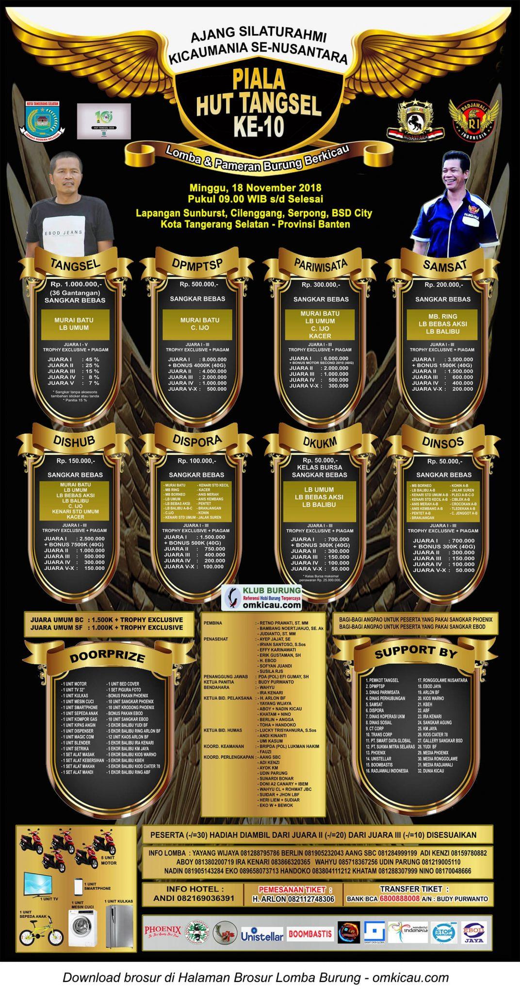 Piala HUT Ke-10 Tangsel