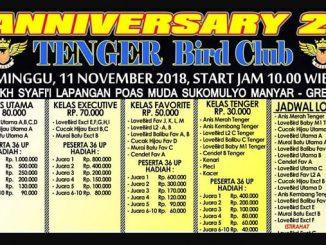 2nd Anniversary Tenger BC