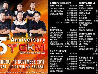 5th Anniversary GKM