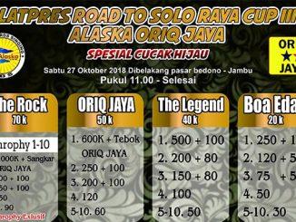 Latpres Road to Solo Raya Cup III