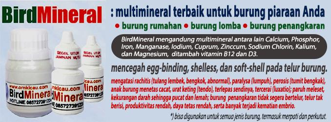 mineral untuk burung