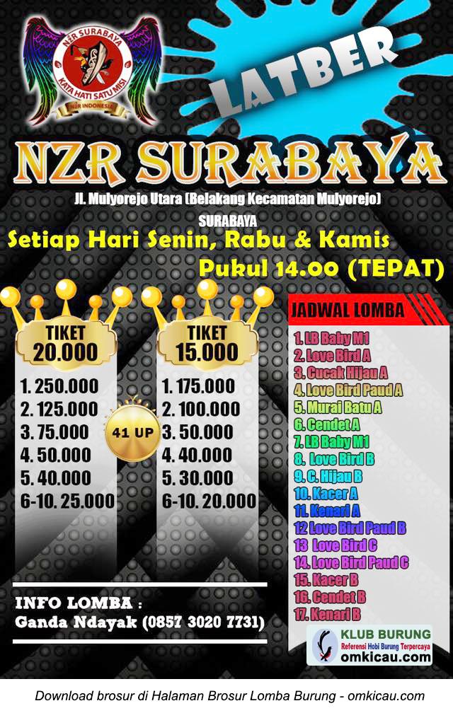 Latber NZR Surabaya