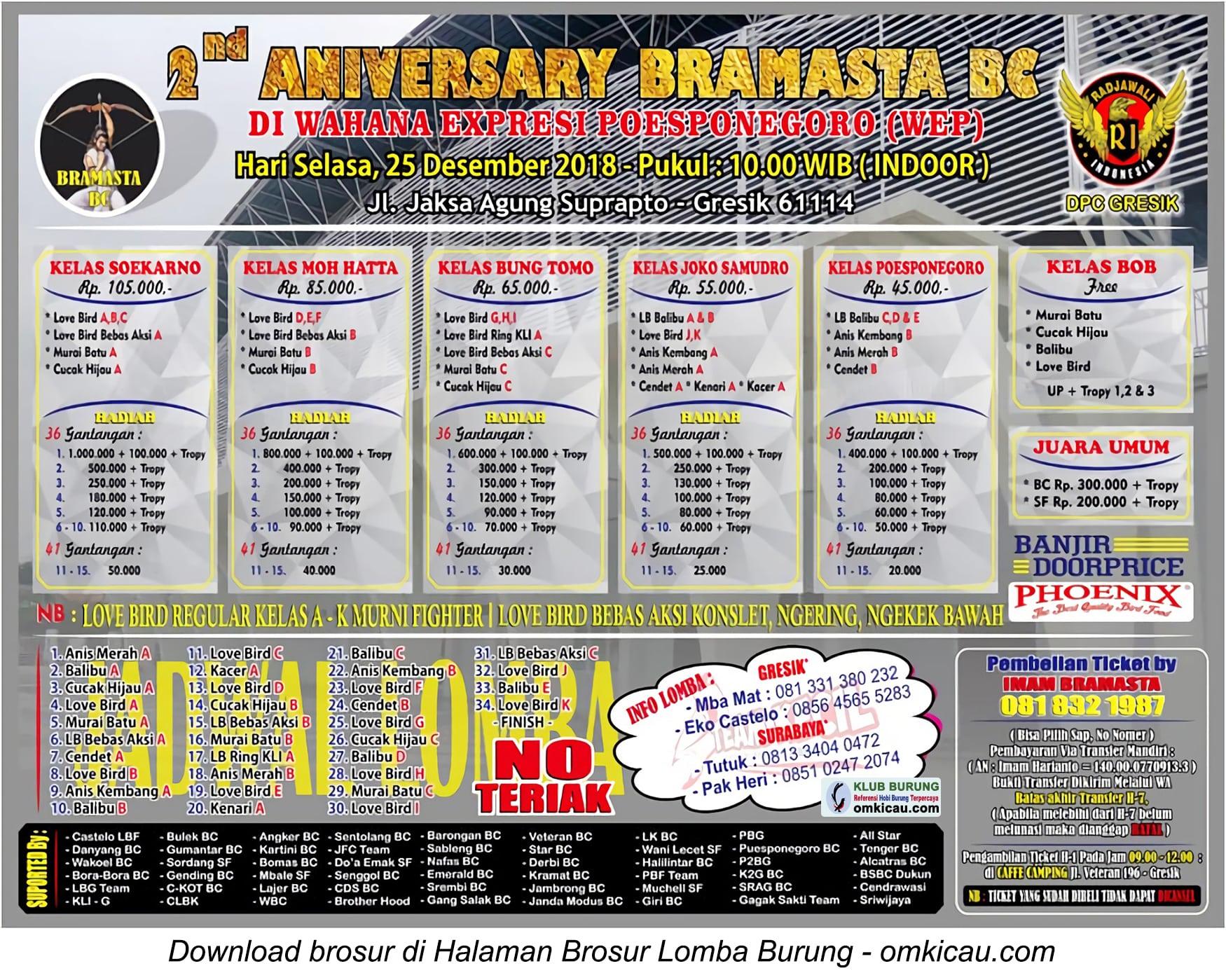 2nd Anniversary Bramasta BC