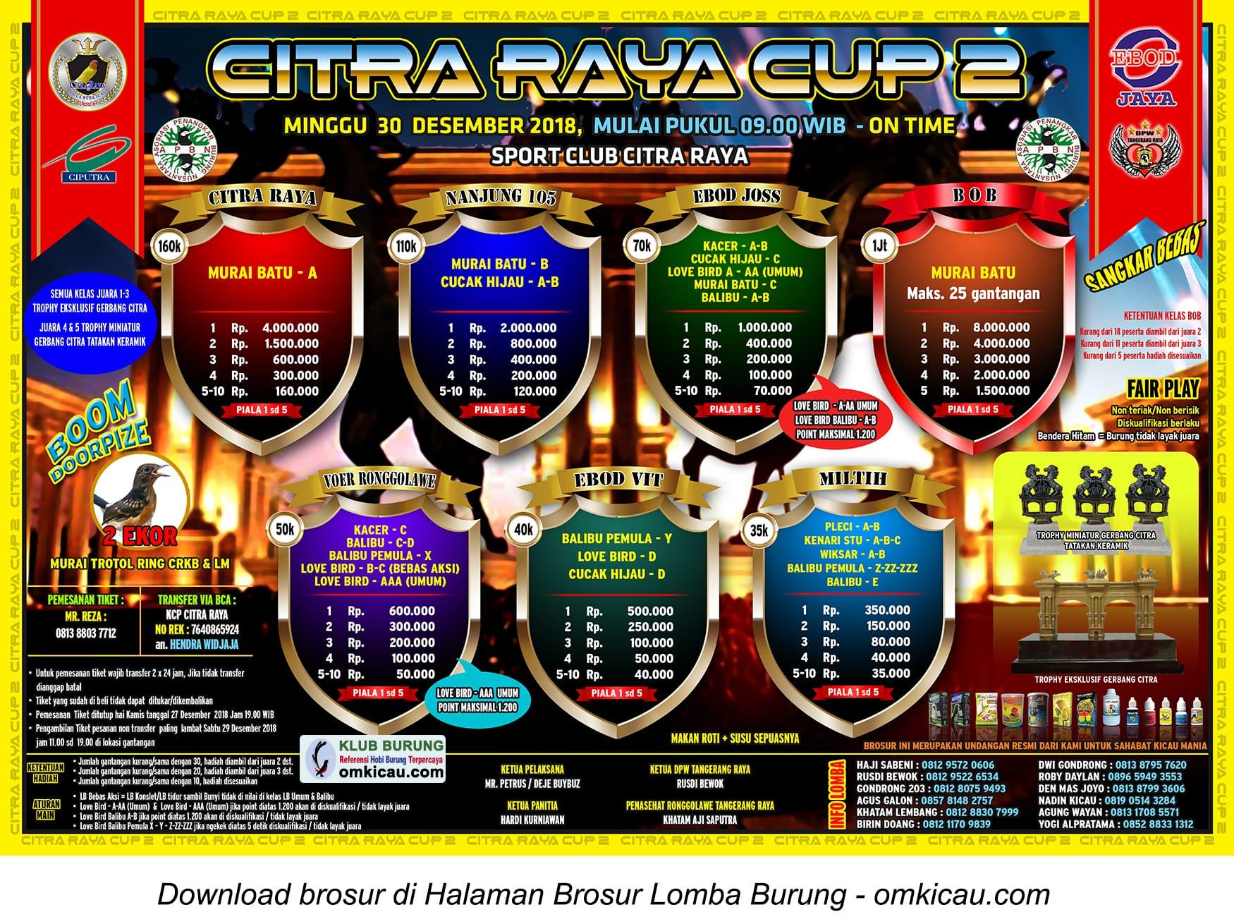 Citra Raya Cup 2