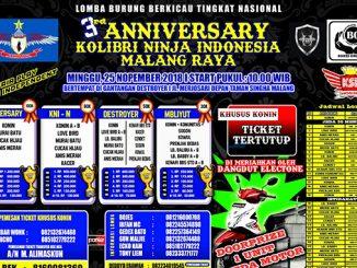 3rd Anniversary KNI Malang Raya