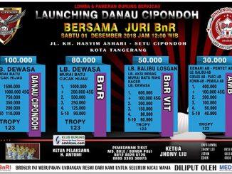 Launching Danau Cipondoh