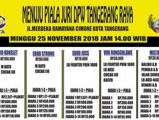 Menuju Piala Juri DPW Tangerang Raya