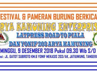 Latpres Road to Piala Dan Yonif 203 Arya Kamuning