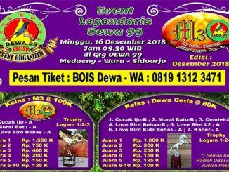 Event Legendaris Dewa 99