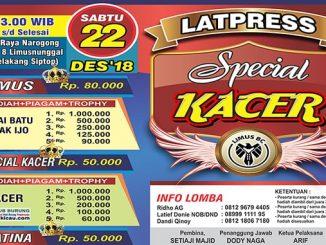 Latpres Special Kacer Limus BC