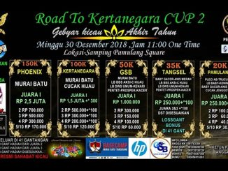 Road to Kertanegara Cup 2