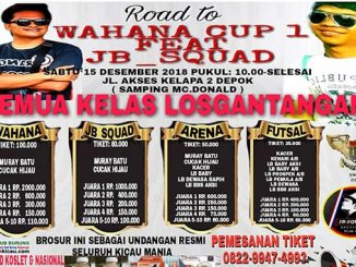 Road to Wahana Cup 1