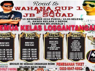 Road to Wahana Cup 1