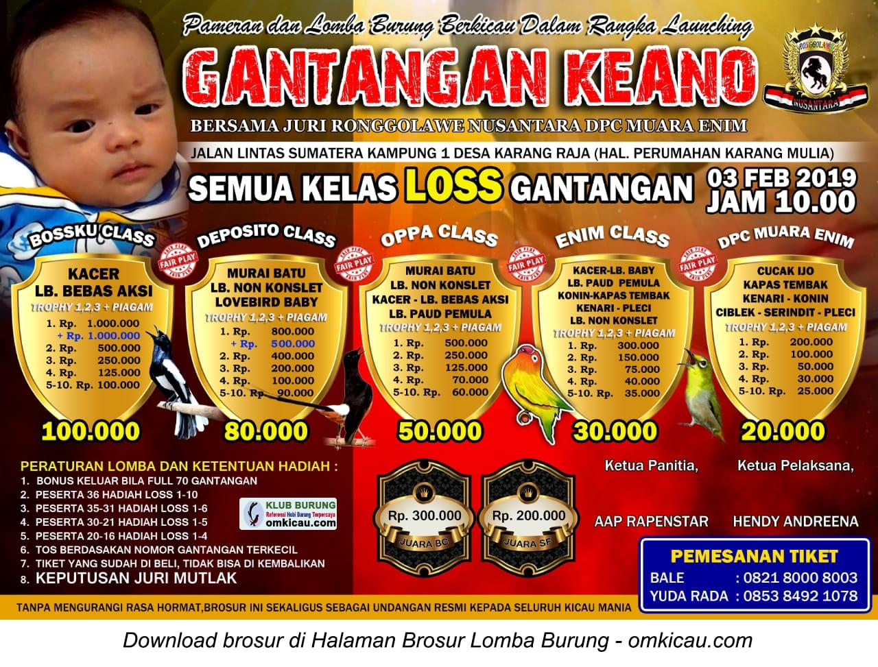 Launching Gantangan Keano