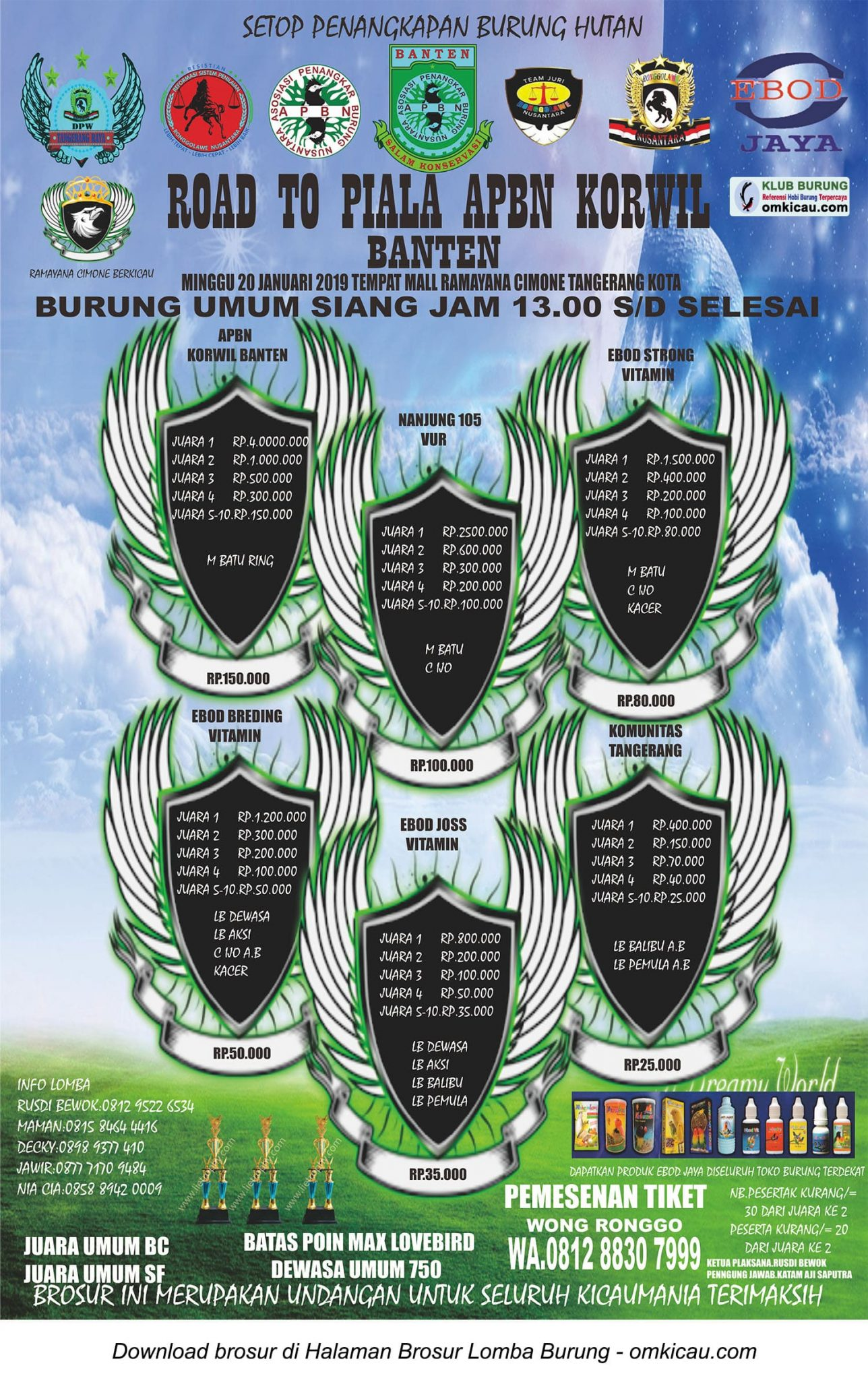 Road to Piala APBN Korwil Banten