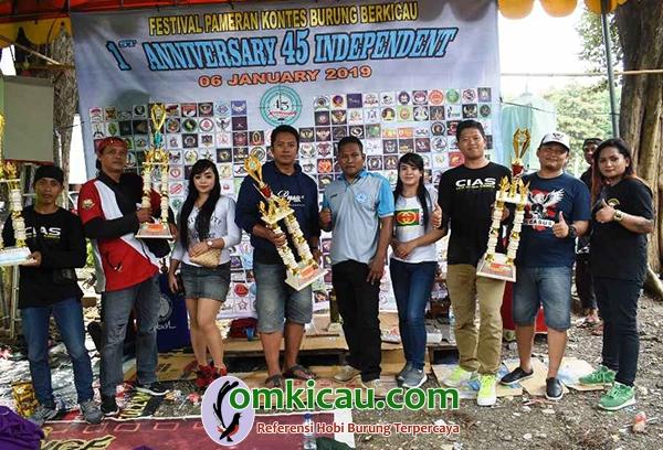 1st Anniversary Gantangan 45 Independent