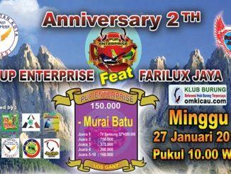 Anniversary 2Th PUP Enterprise