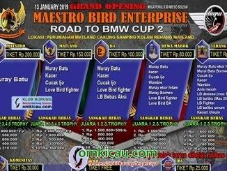 Grand Opening Maestro Bird Enterprise