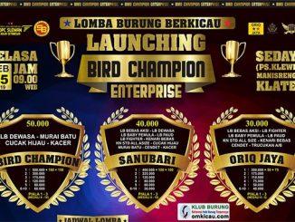 Launching Bird Champion Enterprise