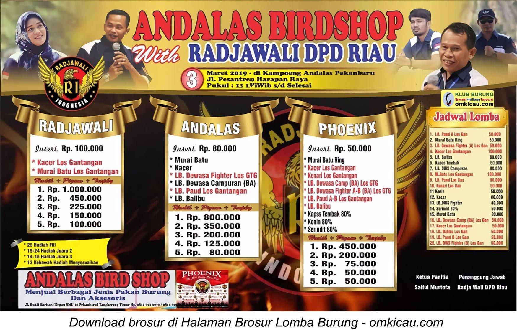 Andalas Birdshop