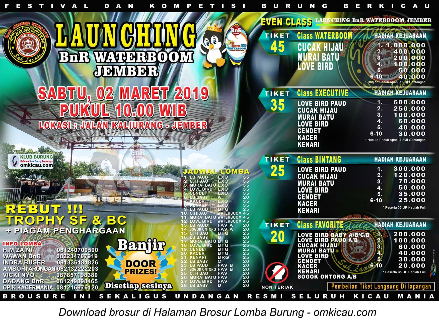 Launching BnR Waterboom