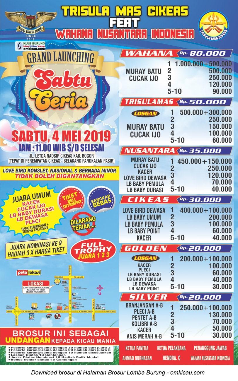 Launching Sabtu Ceria