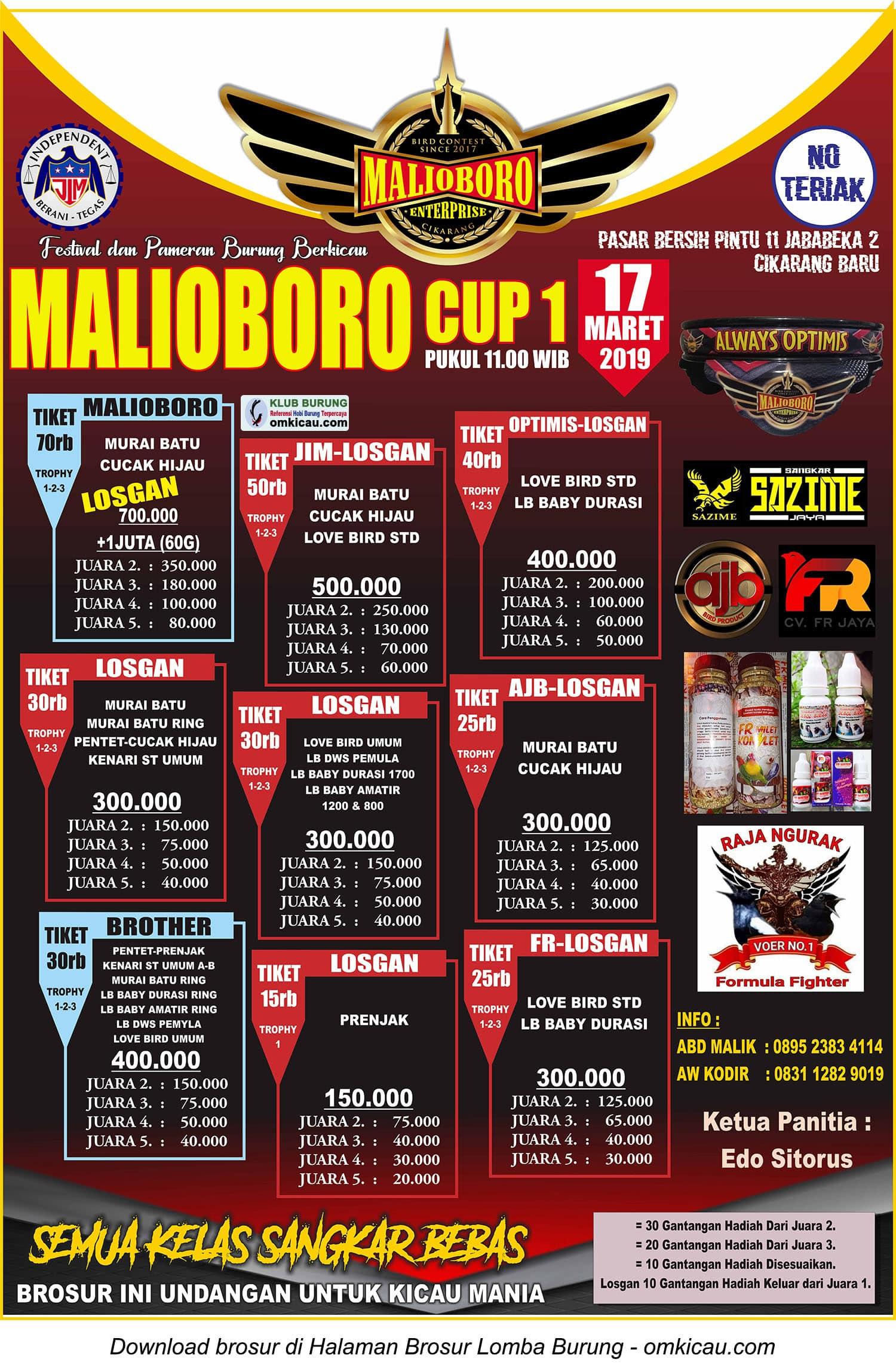 Malioboro Cup 1